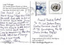 KARTU POS DARI LIBERIA
