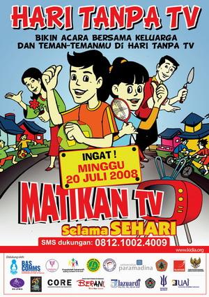 I'M SORRY, TANGGAL 20 JULI, MATIKAN TV!