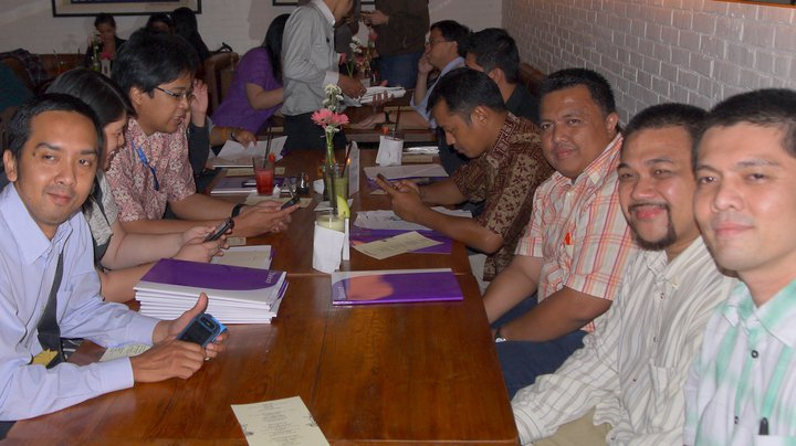 Blogger Gathering bersama Yahoo Indonesia di Loewy Bar & Resto Oakwood Megakuningan