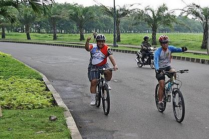 BERSEPEDA CERIA, SEHAT DAN NARSIS BERSAMA CIKARANG BARU CYCLING (CBC)