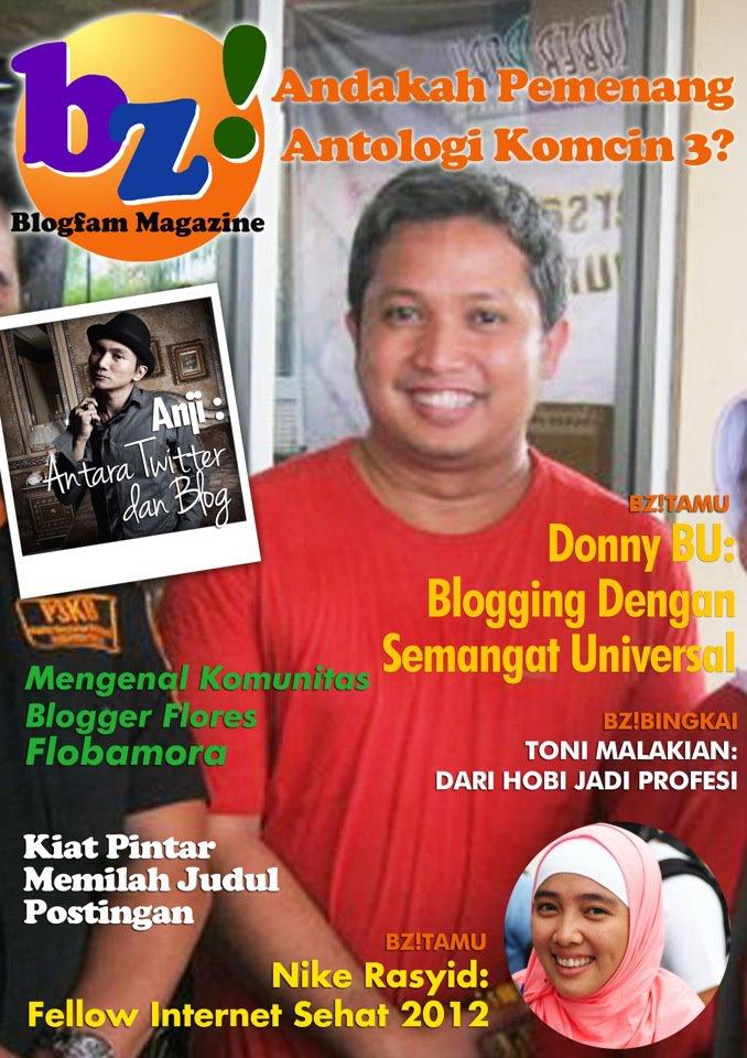 TELAH TERBIT : MAJALAH ONLINE BLOGFAM EDISI MARET 2012