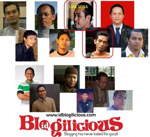 Inilah wajah para panitia di 7 kota Blogilicious