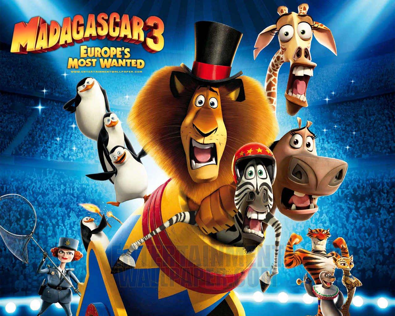 """MADAGASCAR 3 : TENTANG MENYALAKAN NYALI DAN UPAYA BERFIKIR """"BERBEDA"""""""