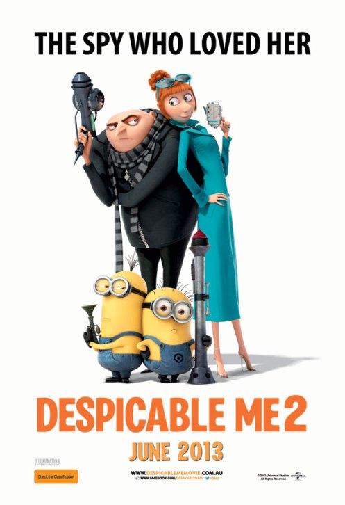 FILM DESPICABLE ME-2 : KEGALAUAN GRU DAN AKSI KOCAK THE MINIONS