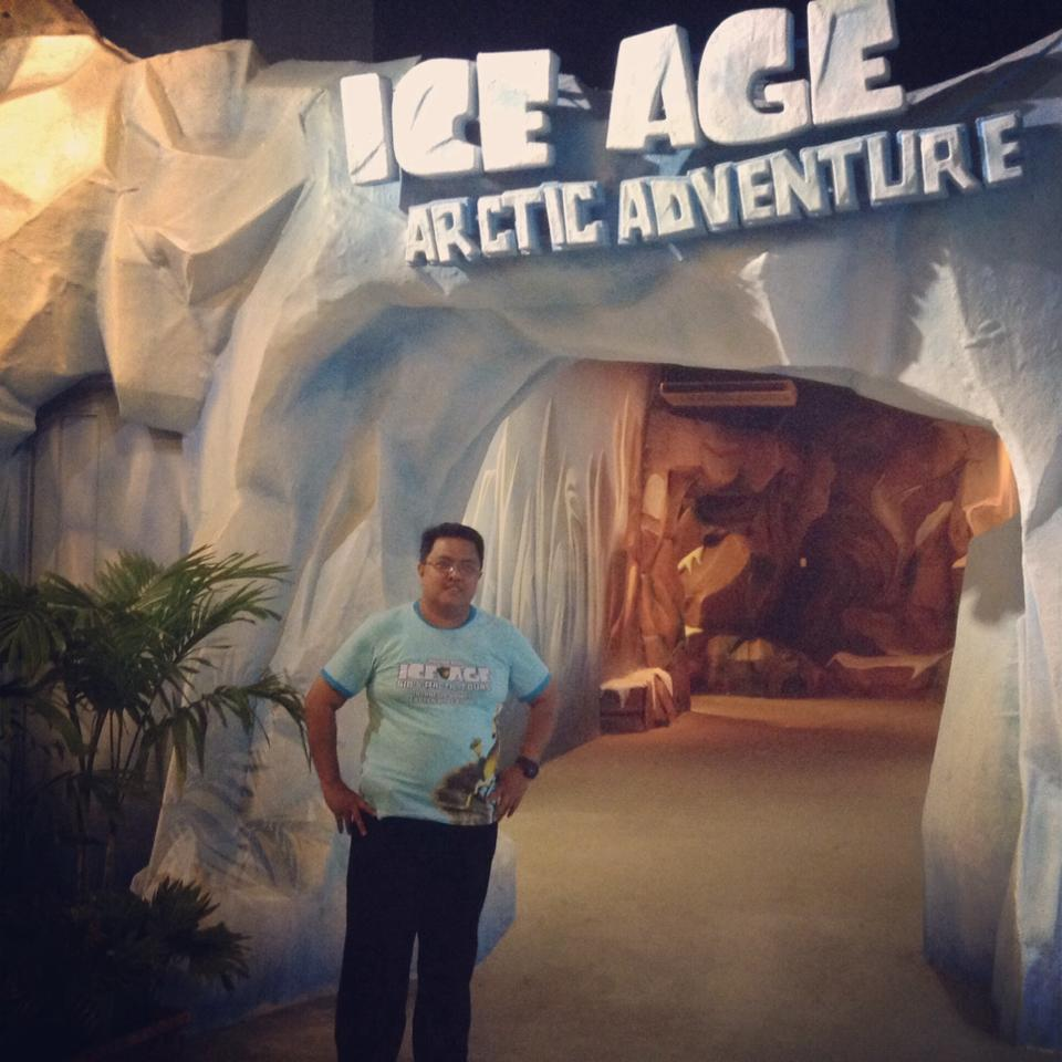 ICE AGE, WAHANA BARU DUFAN ANCOL & SENSASI YANG MENYERTAINYA