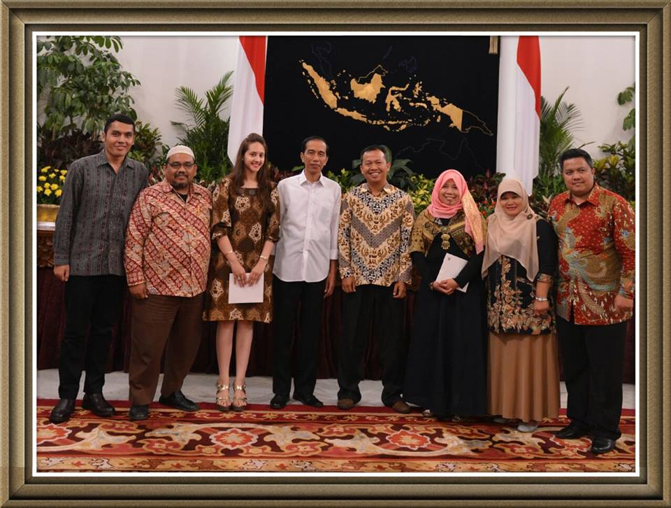 with jokowi