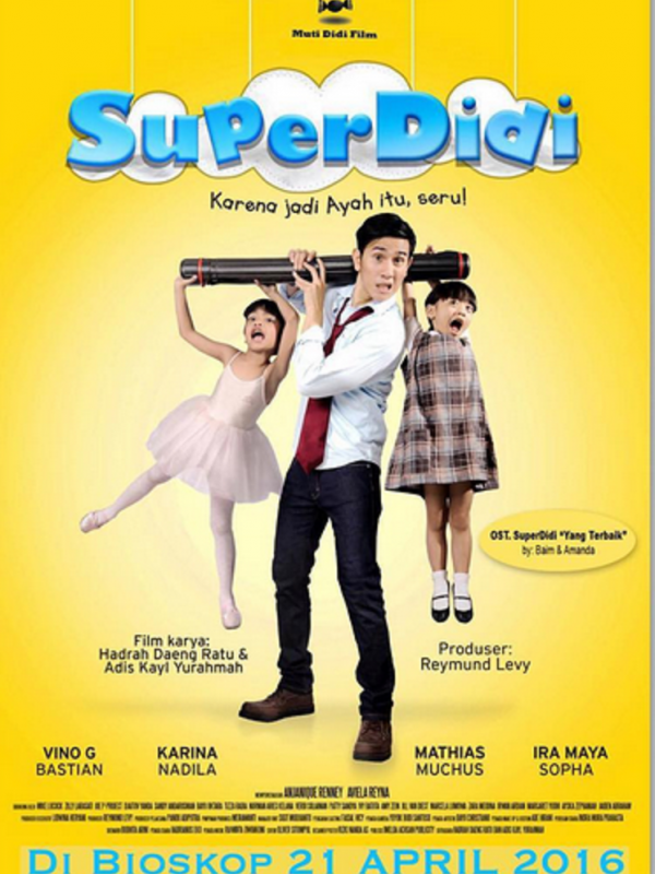 "FILM ""SUPER DIDI"" : ROMANTIKA SANG ""PAPI SITTER"""