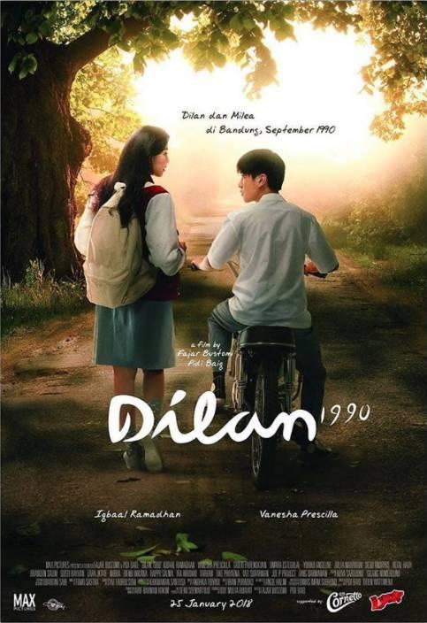"""REVIEW FILM DILAN-1990 : KISAH CINTA REMAJA """"JAMAN OLD ..."""