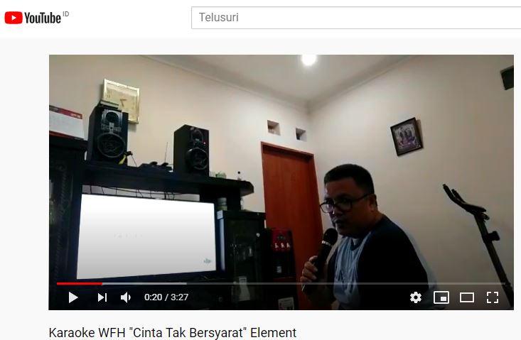 VIDEO: MENGISI WAKTU #WFH DENGAN BERKARAOKE DI RUMAH