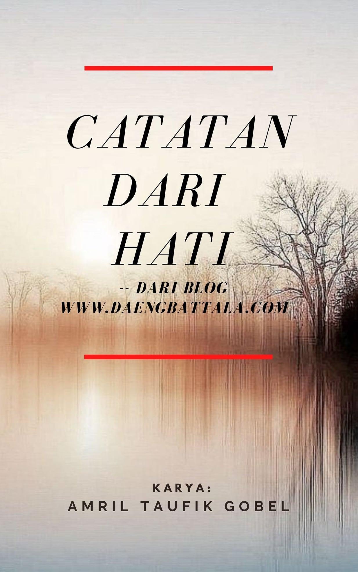 """""""CATATAN DARI HATI"""" ADA DI STORIAL"""