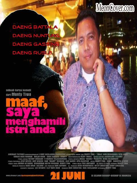 PASANG TAMPANG DI POSTER FILM