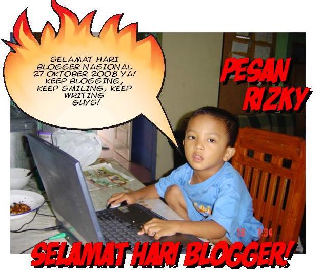 SELAMAT HARI BLOGGER NASIONAL!