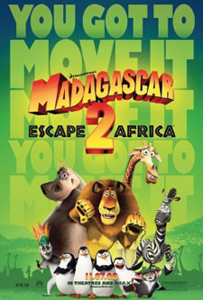 NONTON MADAGASCAR 2 DI HARI PERTAMA 2009