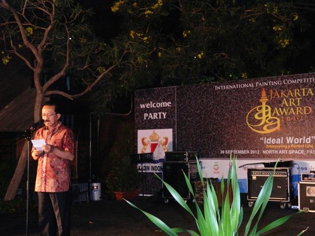 JAKARTA ART AWARD 2012 : APRESIASI TERHADAP KARYA LUKIS DAN KEMITRAAN STRATEGIS BLOGGER