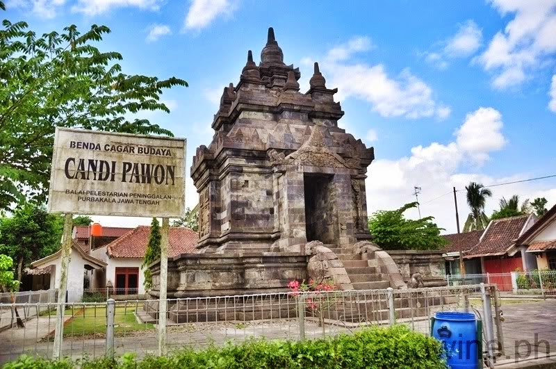 CANDI PAWON DAN RELIEF POHON KALPATARU