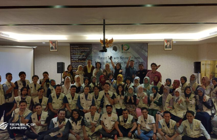 VIDEO DOKUMENTASI ACARA FOREST TALK WITH NETIZEN JAMBI, 31 AGUSTUS 2019